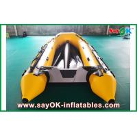 China 0.8mm PVC Inflatable Boats Aluminium Bottom 3.3m Long For 5 Peopel on sale