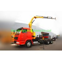 Wholesale 5 ton Knuckle Truck Mounted Crane in White Red , SQ5ZK3Q Boom Truck Crane from china suppliers