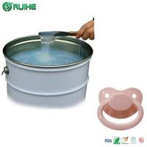 China BPA Free Silicone Mold Making Rubber / Custom Baby Feeding Bottle Nipple on sale