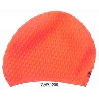 Wholesale Light Weight Durable Mesh Silicone Or Latex Swim Caps Pink Silver from china suppliers
