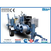 Wholesale Power Line Construction 60kN 6Tons 220kv Overhead Stringing Machine with Cummins Diesel Engine from china suppliers
