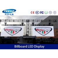 Wholesale Full Color Outdoor Advertising LED Signs , Large Billboard LED Display DIP246 P8 from china suppliers