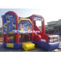 China Amusement Disney Parks Inflatable Jumping Castle Mickey Mouse In Downtown on sale