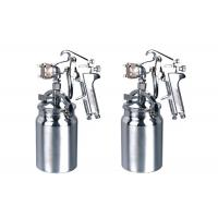 Quality 1.8mm chrome plated Suction Feed High Pressure Spray Gun , 1000ml aluminum cup for sale