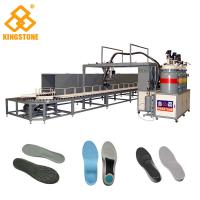 Wholesale 40 Stations Rotary Type PU Pouring Machine For Safety Shoes / PLC Control System from china suppliers