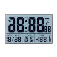 China Transparent 7 Segment TN LCD Display For Medical / Blood Glucose Meter on sale