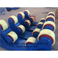 Wholesale Self Aligning Rotators / Welding Turning Rolls 20 Ton , PU Rollers , France Schneider Inverter from china suppliers