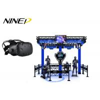 Buy cheap 4 Players Standing Virtual Reality Game Simulator For Park 12 Months Warranty from wholesalers