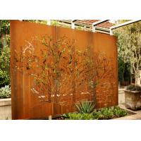 Wholesale Customized Corten Steel Metal Tree Wall Art Sculpture For Garden Decoration from china suppliers