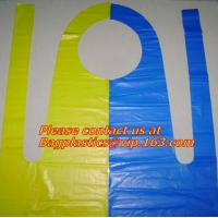 Wholesale waterproof pe aprons, disposable, aprons, LDPE apron, HDPE apron, PE apron from china suppliers