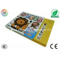 Wholesale Small Size 6 Button noisy books for babies , farm animal sounds book from china suppliers