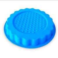 Quality new design round shape silicone pizza  mold ,customized silicone pizza cake mold for sale