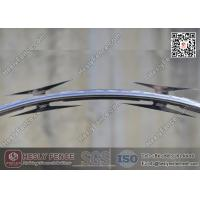 Wholesale CBT-65 Hot Dipped Galvanised Concertina Razor Edge Wire O.D. 500mm from china suppliers
