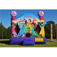 Buy cheap Fire - Resistant Inflatable Bouncer , Blow Up Disney Princess Jumping Castle from wholesalers
