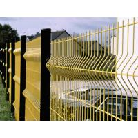 China Powder Coated / Galvanized Wire Mesh Fence Panels 3D Curved Easily Assembled on sale