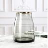 Buy cheap Simple primary color glass vase transparent flower arrangement light luxury vase from wholesalers