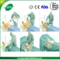 Wholesale Disposable C-section drape pack new born sterile set use in hospital from china suppliers