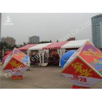 Buy cheap 6x18M A-Frame Shape Outdoor Event Tent Transparent PVC Windows UV Resistant from wholesalers