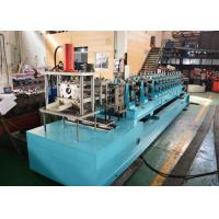 China C Section Frame Roof Purlins Sheet Rolling Machine For 80 To 300mm High Strength Galvanized Steel on sale