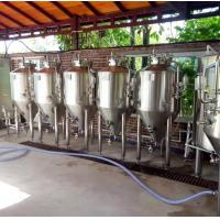 China micro beer brewing equipment, fermenters for beer, beer making equipment for sale