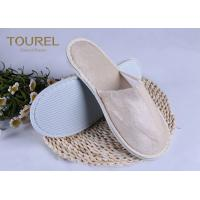 Wholesale Light Pleuche Disposable EVA Terry Towelling Slippers 29*11cm from china suppliers