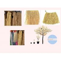 Buy cheap decoration natural and green raffia grass bundle and mat for hunting from wholesalers