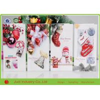 3D Foldable Pop Up Christmas Greeting Cards Rectangle / Square Happy Birthday Cards