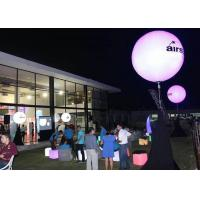 Wholesale Night Inflatable Advertising Products , Purple Inflatable LED Balloon Light For Display from china suppliers