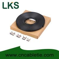 Wholesale LKS-CB Series PVC Coated Stainless Strapping Band with Screw Buckle and Banding tools from china suppliers