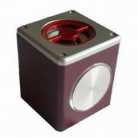 Wholesale Realistic Cars Audio Micro Speaker Box with Wood Shell, Flashing Light and 5.0V DC Input from china suppliers