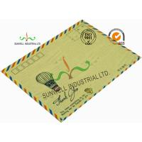 Wholesale Standard Size Kraft Paper Custom Printed Envelopes With UPC Barcode Printing Edge from china suppliers