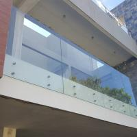 Wholesale Stainless Steel Glass Standoff Tempered Laminated Glass Balcony Railing from china suppliers