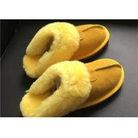Buy cheap LADIES SHEEPSKIN LUXURY MULE SLIPPERS lamsbwool-lined slipper mule with from wholesalers