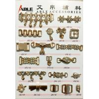 Wholesale Gold Shoe Chain Accessories Zinc Alloy Buckle For Flip Flops Shoes from china suppliers