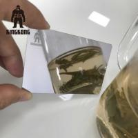 Wholesale Anti Fingerprint  Mirror Business Cards , Stainless Steel Business Cards 85x54mm from china suppliers