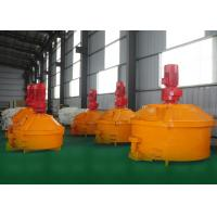 China Stainless Steel Materials Pan Type Concrete Mixer Polyphenylene Granule Cement Slurry for sale
