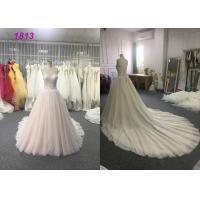 Wholesale A - Line Wedding Wear Dresses Strapless Appliques Princess Bridal Gown from china suppliers