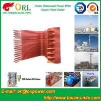 Quality SA210A1 Alloy Steel Boiler Water Wall Tubes Floor Standing SGS Standard for sale