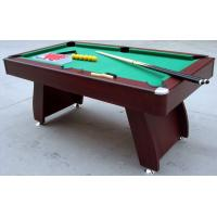 Wholesale Modern Design Billiards Game Table 6ft Snooker Table MDF Solid Wood With PVC Laminated from china suppliers