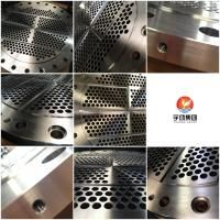 China Heavy Duty Steel Baffle Plate Flanges F304, F316L Grade High Performance for sale
