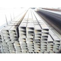 China S355JR square steel tubes for photovoltaic plants with thin wall and galvanizing on sale