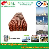 Wholesale Floor Standing Radiant Superheater In Power Plant , Superheater Tubes from china suppliers