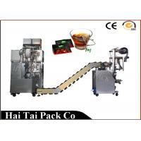 Quality Automatic Filling Function Herbs Tea Packaging Machine Triangle Dimensional for sale