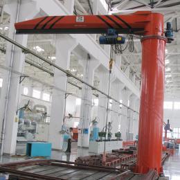 China Single girder underslug models HY portable jib crane fixed column 2 ton foundation mounted jib crane on sale