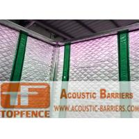 Wholesale Temporary Sound Barriers Fence 40dB noise Industrial Acoustic Curtains Waterproof Acoustic Sound Barrier from china suppliers