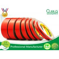 Wholesale Red Color Double Sided Window Foam Tape , PE Acrylic Foam Tape 20MM X 50M from china suppliers