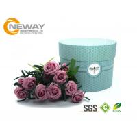 Wholesale Flower Gift Box Universal Paper Round Flower Box CMYK Full Color Offset Printing from china suppliers