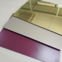 Wholesale High Reflective Rate Aluminum Mirror Sheet Glass Processing Anodized Stable from china suppliers