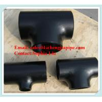 Buy cheap CS pipe tee factory from wholesalers