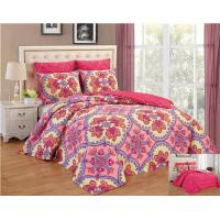 Wholesale Reversible 6pcs Comforter Set Printed Floral Bedding Set from china suppliers